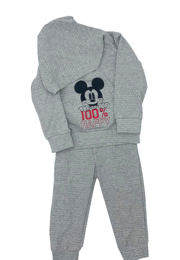 Conjunto con Gorro Bordado Disney 100% Mickey - Kiss