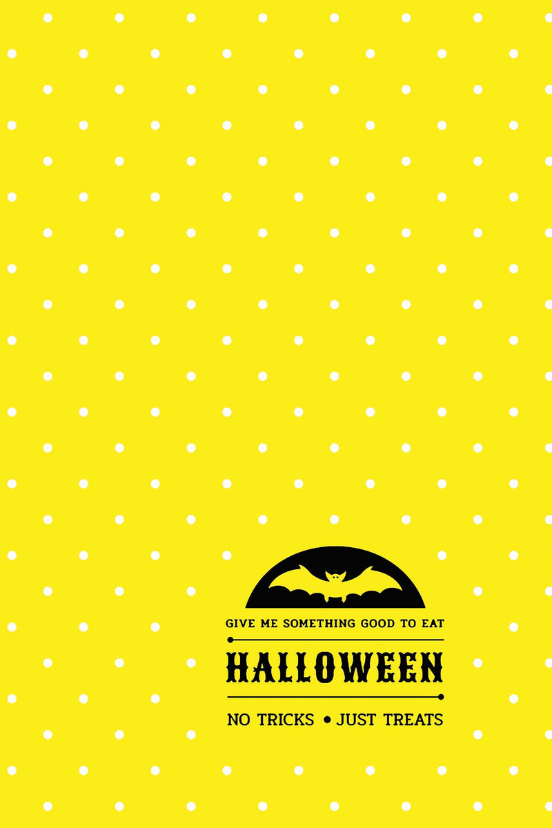 Happy Halloween Lifestyle Notebook, Wide Ruled, 180 Pages (90 Shts), Dotted Lines, Write-in Journal, US Trade (6 x 9 In) (Book 7)