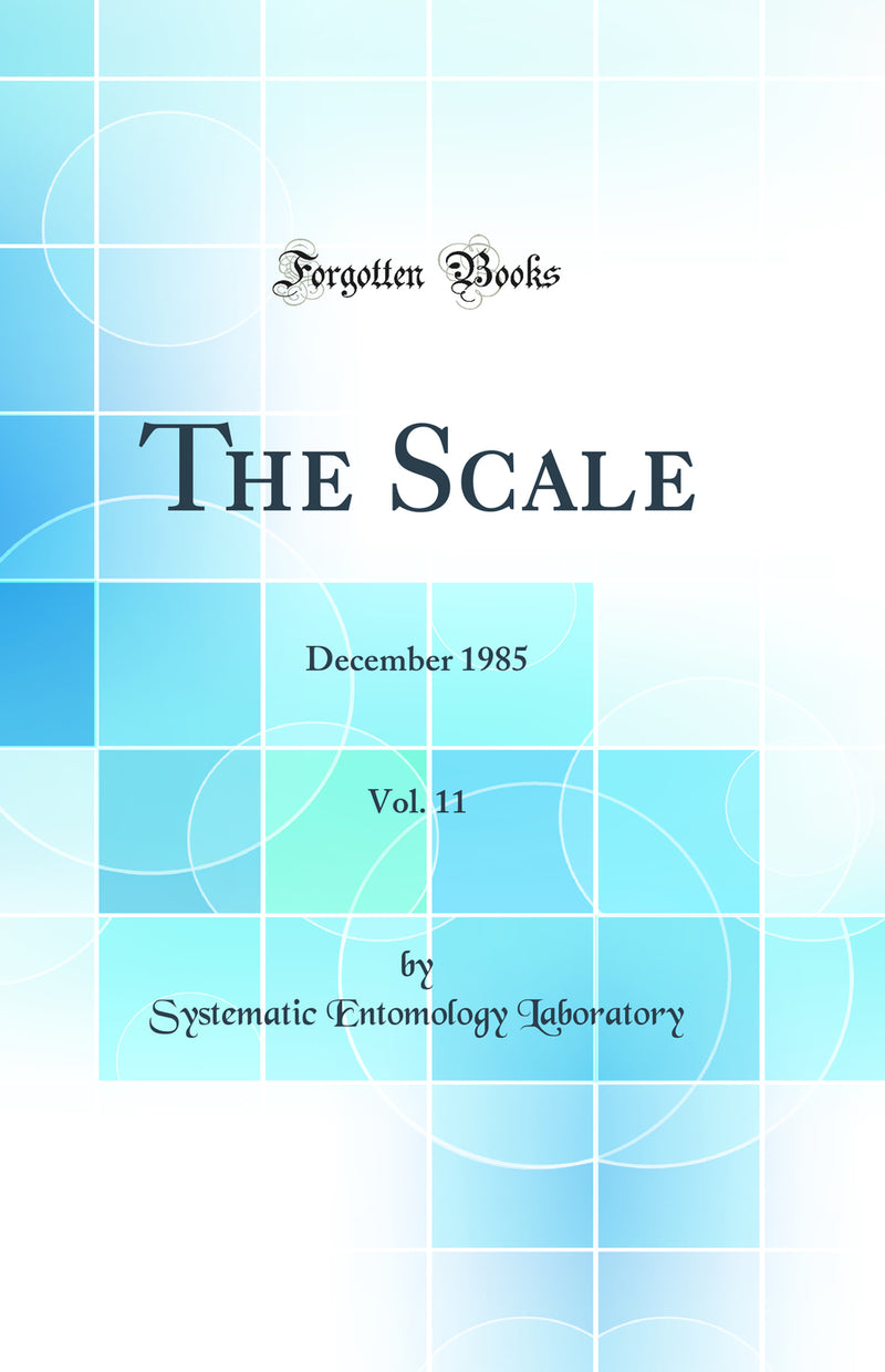 The Scale, Vol. 11: December 1985 (Classic Reprint)