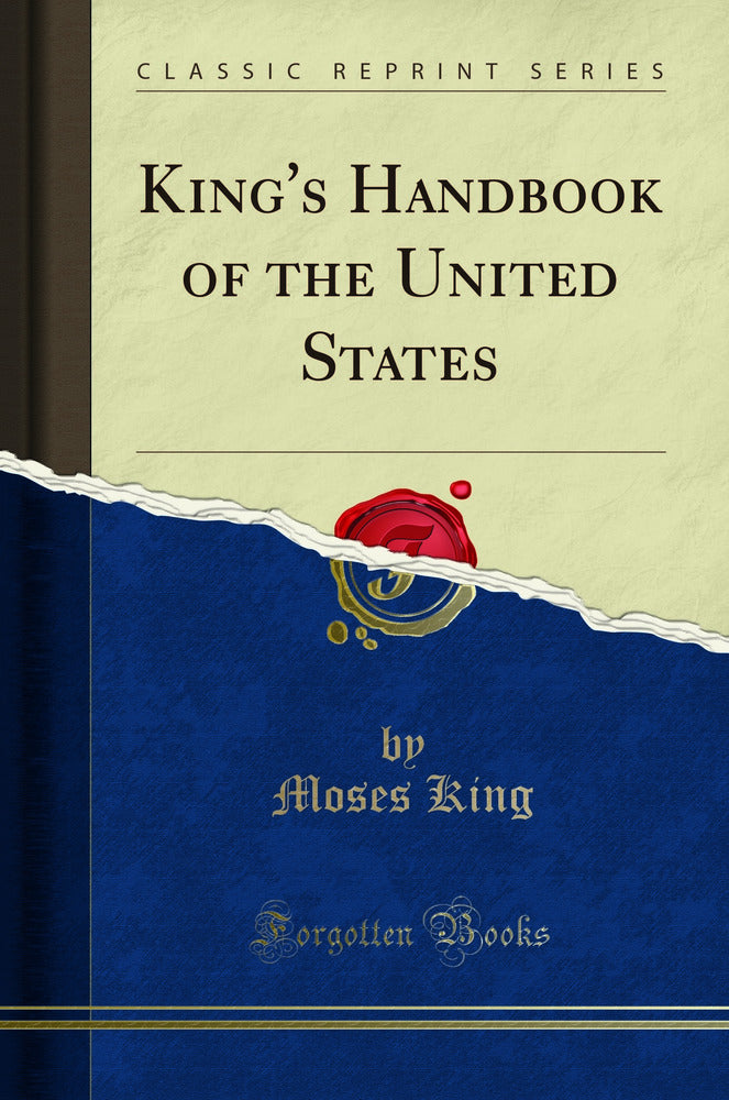 King's Handbook of the United States (Classic Reprint)