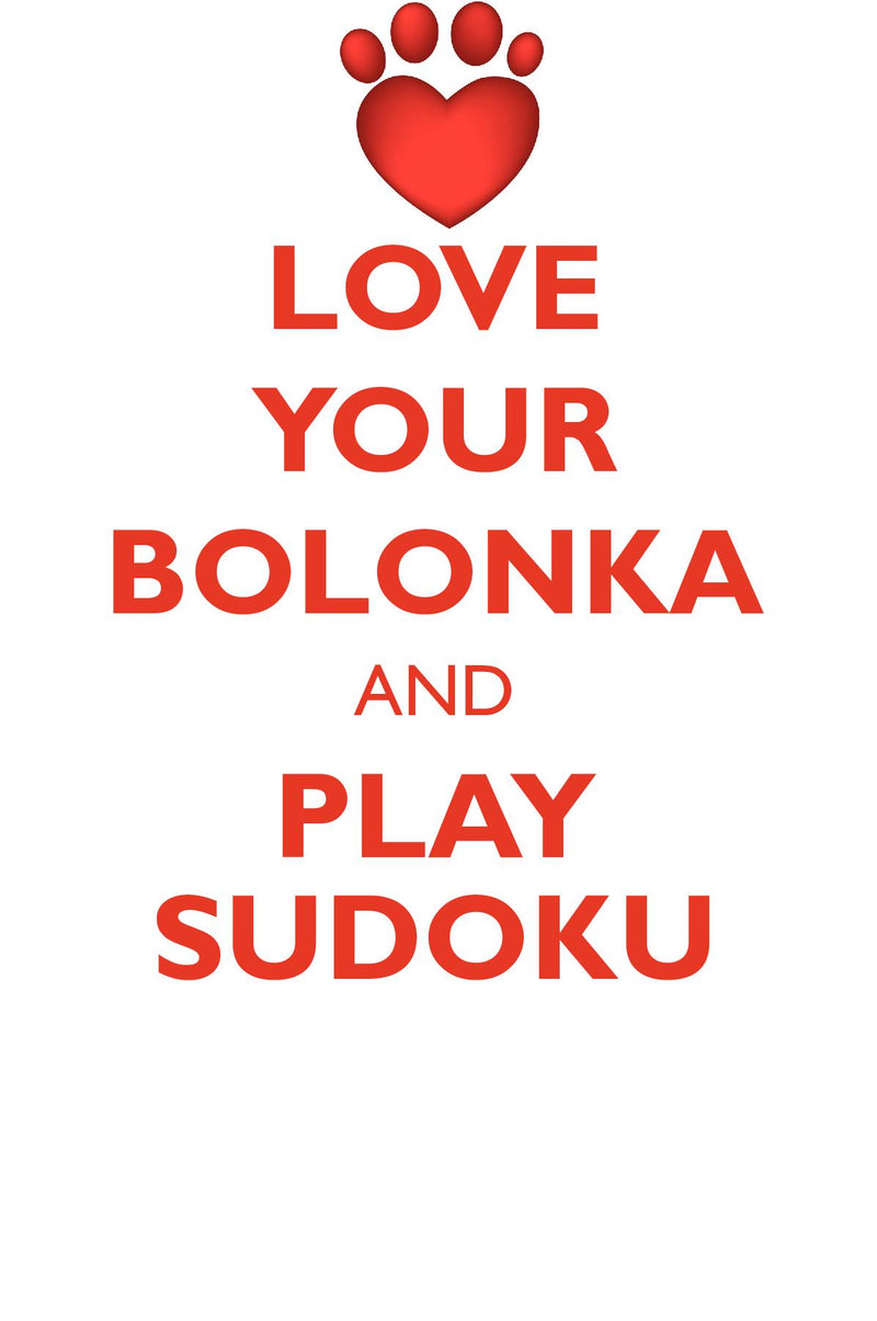 LOVE YOUR BOLONKA AND PLAY SUDOKU RUSSIAN TSVETNAYA BOLONKA SUDOKU LEVEL 1 of 15