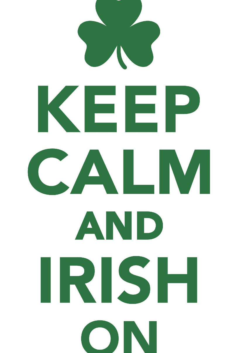 Keep Calm Irish On Workbook of Affirmations Keep Calm Irish On Workbook of Affirmations: Bullet Journal, Food Diary, Recipe Notebook, Planner, To Do List, Scrapbook, Academic Notepad