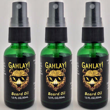 Load image into Gallery viewer, GAHLAY! Beard oil 🕶 Mattman's original Sandalwood 1 oz bottle w/ FREE shipping