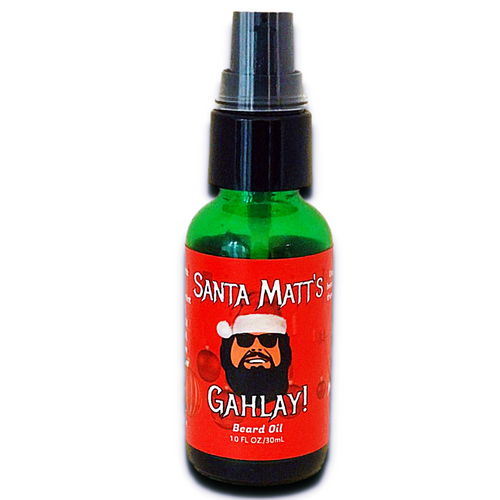 Santa Matt's Christmas beard oil