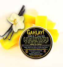 Load image into Gallery viewer, GAHLAY! Beard balm - Vanilla Smoke 2 oz. can w/ FREE shipping