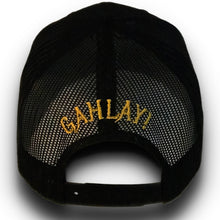 Load image into Gallery viewer, GAHLAY! logo mesh trucker hat snapback w/ FREE shipping