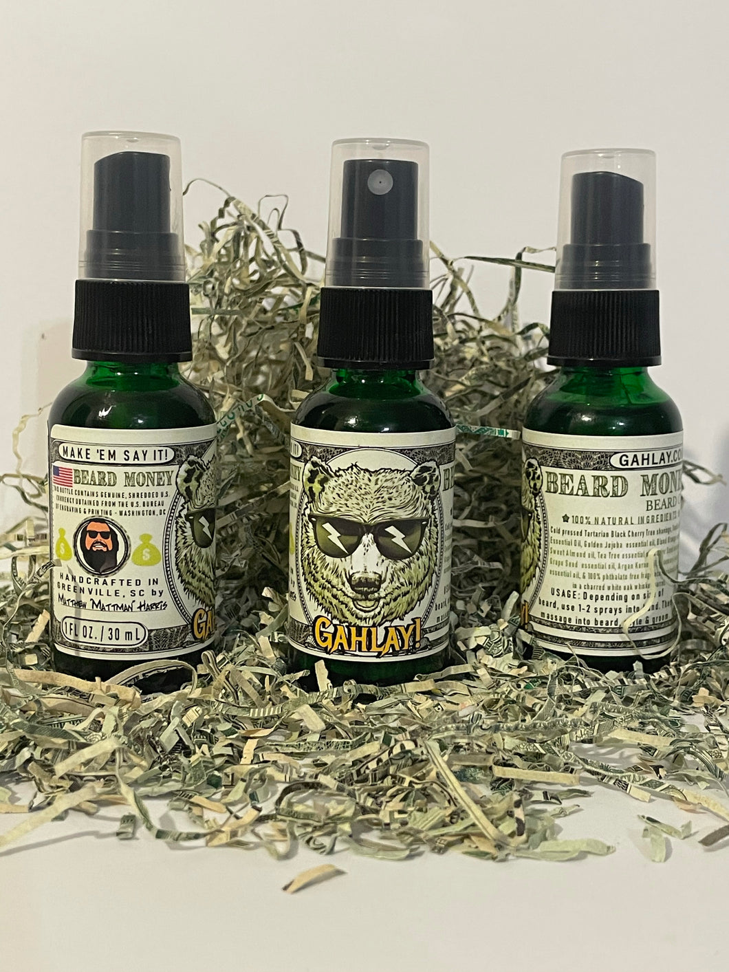 Mattman beard oil beard money GAHLAY!