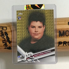 Load image into Gallery viewer, GAHLAY! x TOPPS Mattman 8th Grade Rookie Card EXCLUSIVE