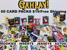Load image into Gallery viewer, GAHLAY! 60 ct. Baseball Card Packs Topps™ Donruss™ Panini™ Bowman™