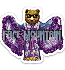 "GAHLAY! ""Face Mountain"" sticker EXCLUSIVE w/ FREE shipping"