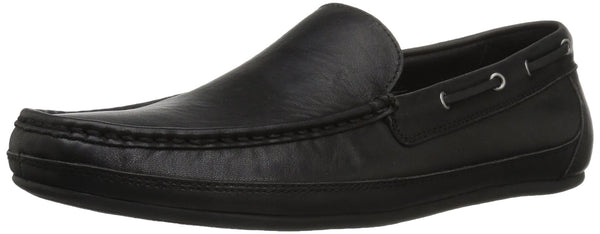 Amazon Brand - 206 Collective Men's Pike Driving Slip-on Loafer, Black, 10.5 D US