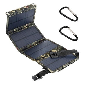 Solar Powered Foldable USB Phone Charger