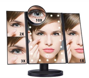 Folding Make - Up Mirror