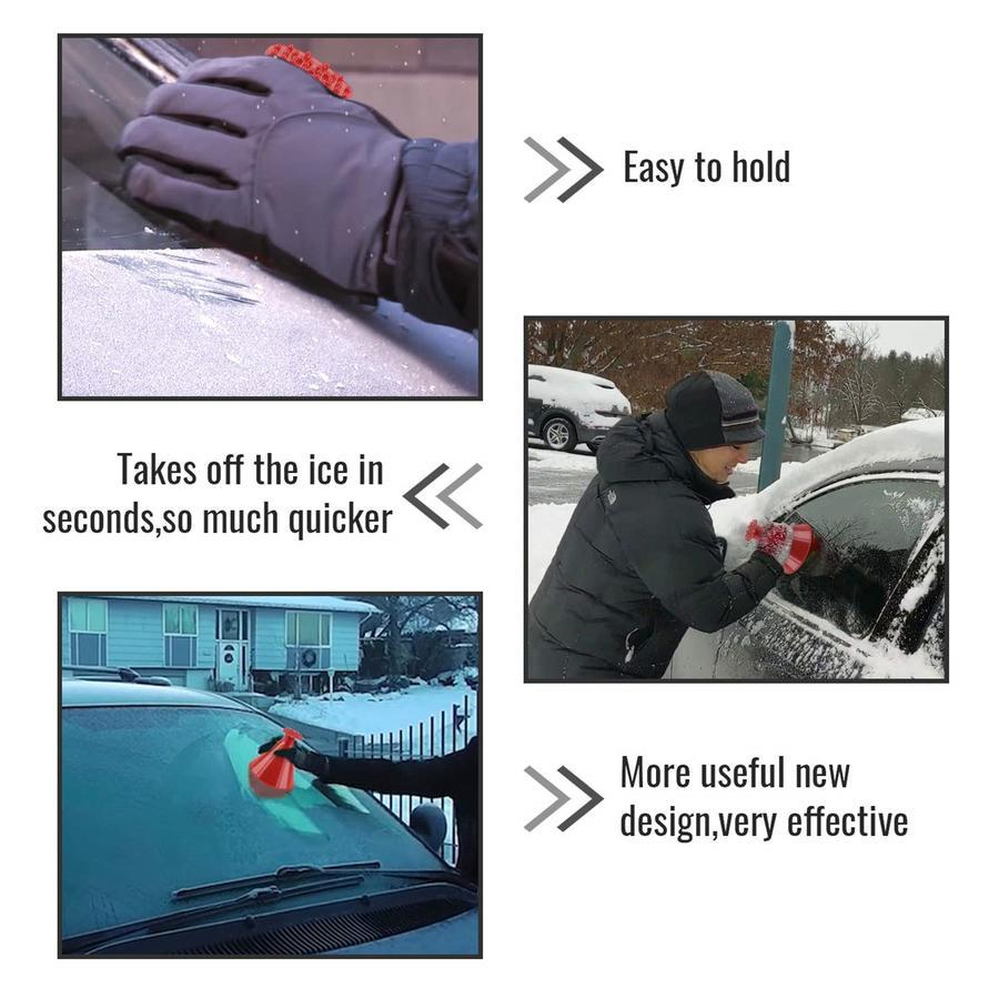 Multifunctional Automotive Glass Snow Remover Car Ice Scraper