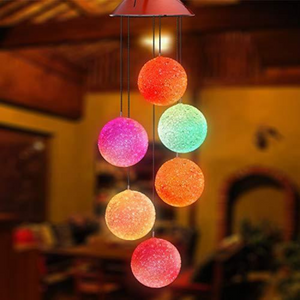Solar Powered Crystal Ball Light