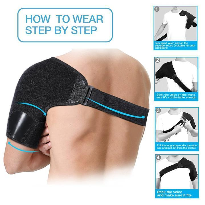 Adjustable Shoulder Support Brace
