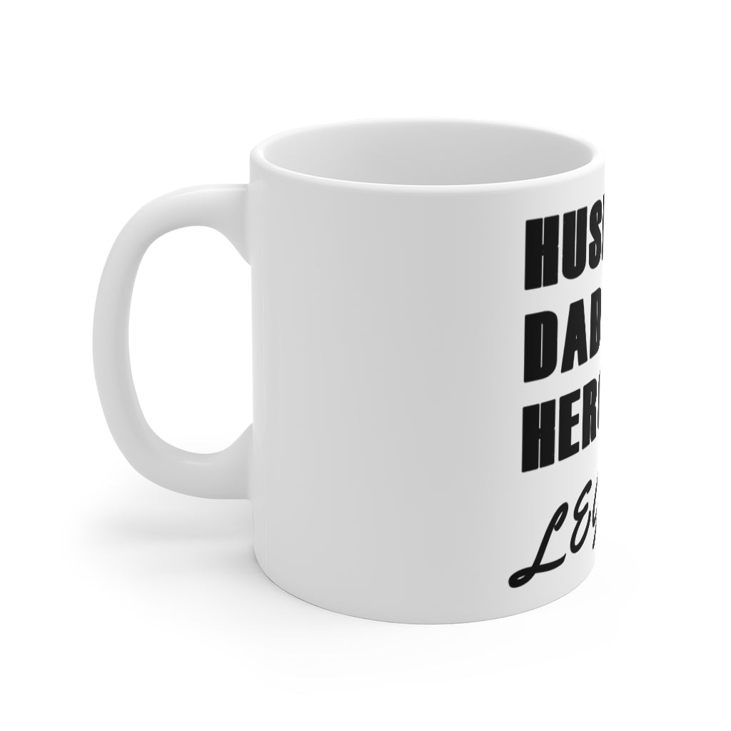 Husband, Dad, Hero, Legend Mug