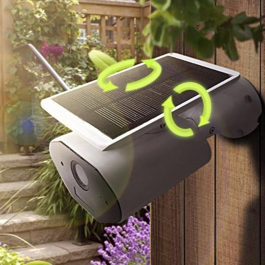 Solar-Powered Wi-Fi Security Camera