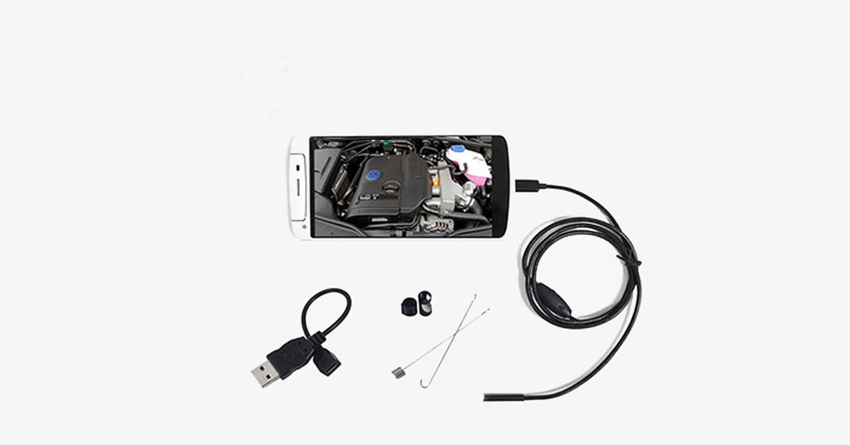 Smartphone Waterproof Endoscope Inspection Camera For Android Devices - FREE SHIP DEALS
