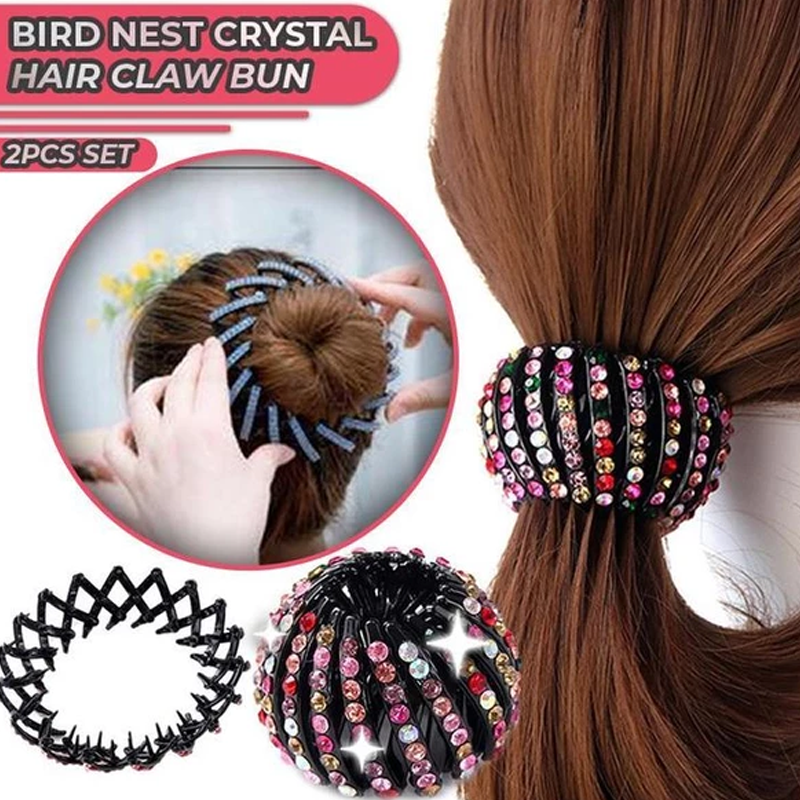 Crystal Glitter Hair Claw