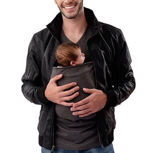 Multi-functional Parent-child Kangaroo Pocket T-shirt