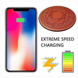 10W Painted Magic Array Mobile Phone Wireless Charger