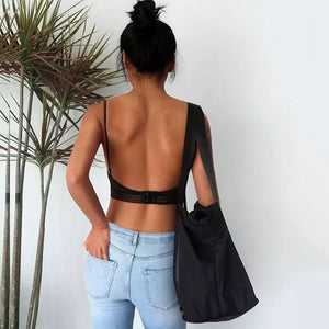 Lace-U-Back Lifting Bra