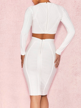 Load image into Gallery viewer, Blanca Bandage Dress - Paola Collections