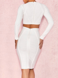 Blanca Bandage Dress - Paola Collections