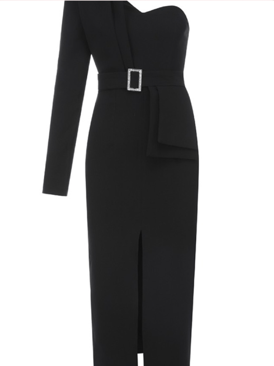 Celia Black Dress - Paola Collections