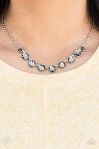 Deluxe Luxe Silver Necklace -1A