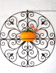 Wrought Iron Wall Stand Type 1