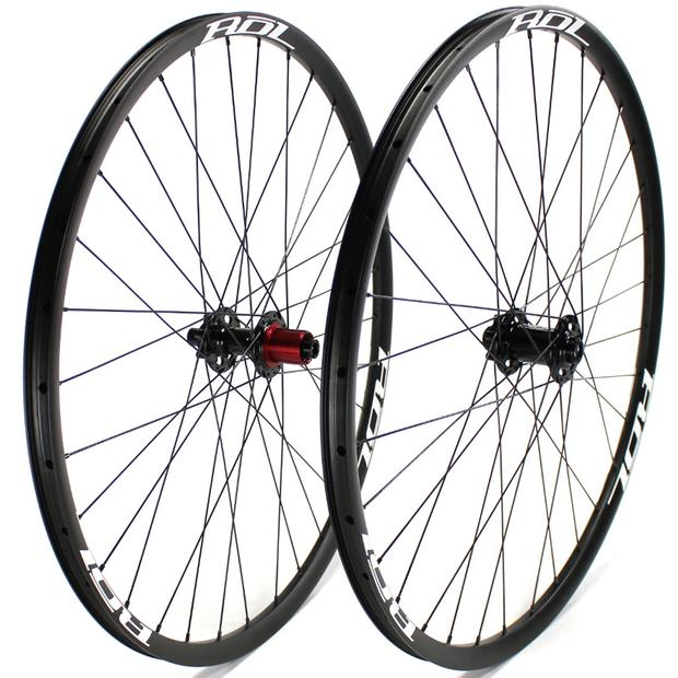 Range Alloy Adventure 650b Disc Wheelset
