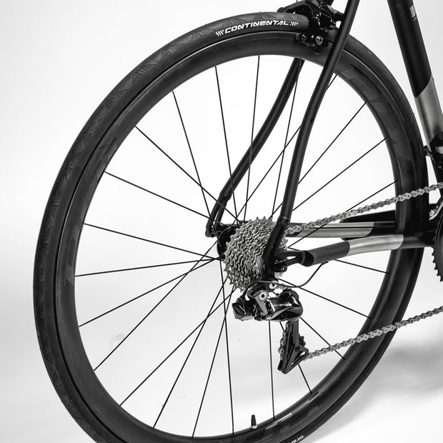 C45 Carbon Rim-Brake Clincher Wheelset