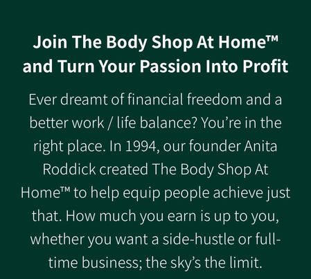 The Body Shop Mission and Values