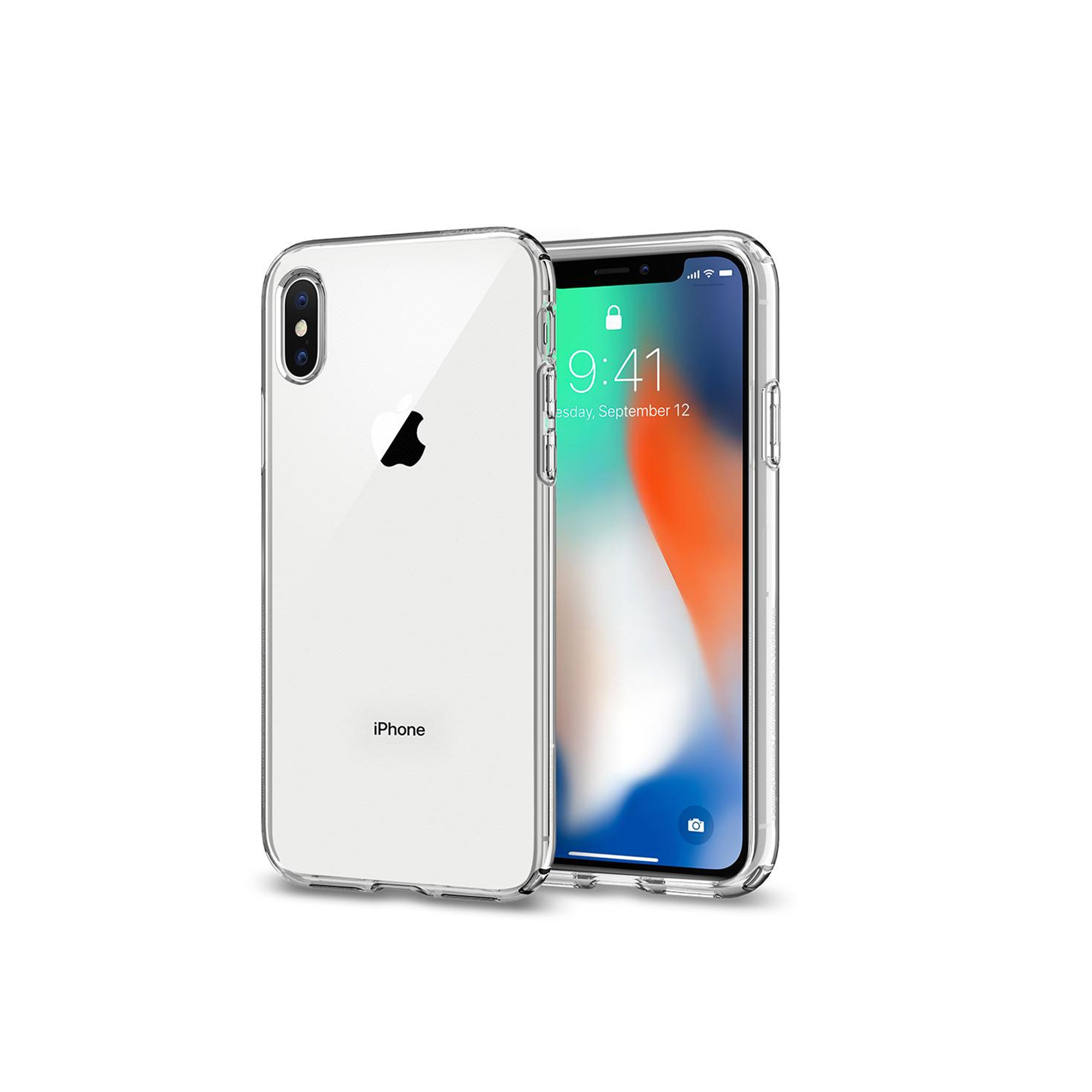 Spigen iPhone X/XS Liquid Crystal Case