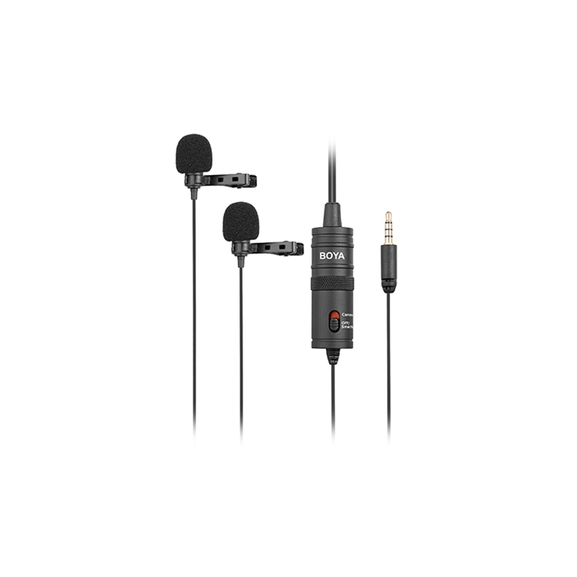 BOYA BY-M1DM Dual Omnidirectional Lavalier Mic