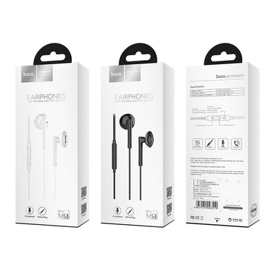 Hoco M53 Wired Earphones