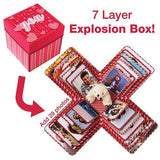 7 Layer Explosion Box | Gift For Anniversary | Birthday