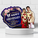 Customized Wooden Led Cut Out Anniversary