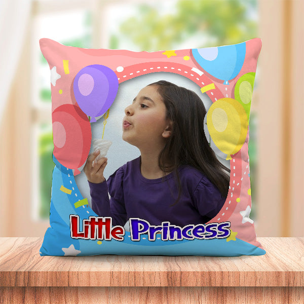 Personalized Little Princess Cushion