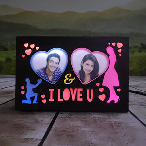 I Love You Led Photo Frame