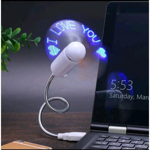 Customized Usb Fan With Message