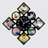 Personalized Wall Clock With 8 Photos