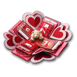 Personalized Classic Love Explosion Box