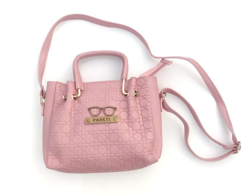 Personalized Sling bag with Charm
