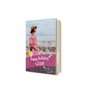 Birthday Audio Greeting Card Pink