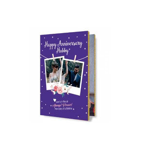 Anniversary Audio Greeting Card Blue