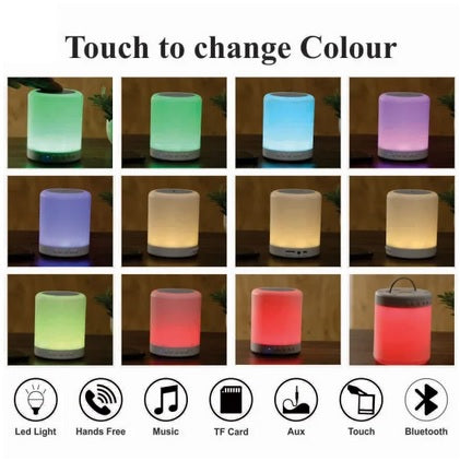 Personalized Multi Color Led Smartouch Bluetooth Speakers