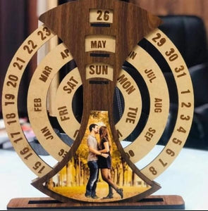 Customized Wooden Calendar